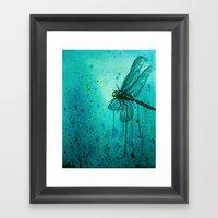 Dragonfly I Framed Art Print
