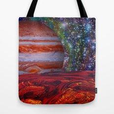 Looking At Jupiter Tote Bag