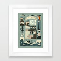 SeaWays Framed Art Print