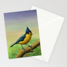 Yellow Tit Stationery Cards