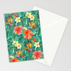 Classic Tropical Garden Stationery Cards