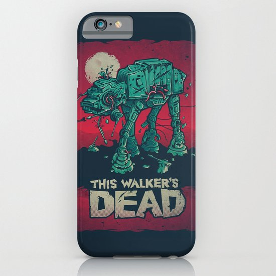 Walker's Dead V2 iPhone & iPod Case