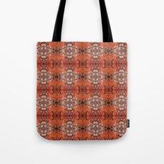 Scarlet Cloister Tote Bag