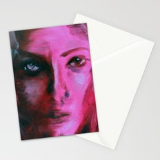 THE PINK QUICK PORTRAIT Stationery Cards