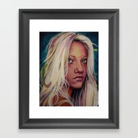 Madame M Framed Art Print