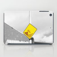 CAR IN THE SEA  iPad Case