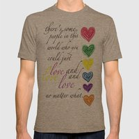 Therere Some People In T… Mens Fitted Tee Tri-Coffee SMALL