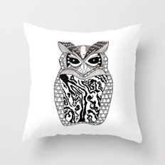 YMMY OWL Throw Pillow