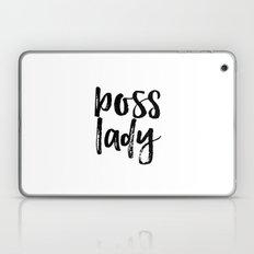 Boss Lady sign Boss gift Boss lady artwork Cute office decor office wall decor Gift Women Boss  Laptop & iPad Skin