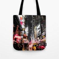 New York City Night II Tote Bag