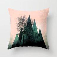 TREES VII  Throw Pillow
