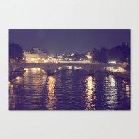 Paris By Night II Canvas Print