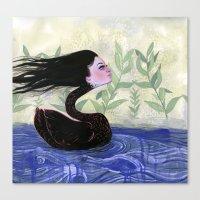 Yvonne Swan Canvas Print