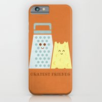 iPhone & iPod Case featuring Cheesy Friendship by Teo Zirinis