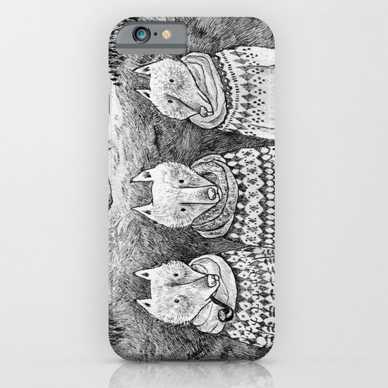 Icelandic foxes iPhone & iPod Case