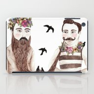 iPad Case featuring Together by Brooke Weeber
