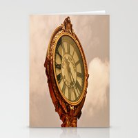 5th Avenue Clock Stationery Cards