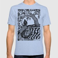 The Golden Apples (1) Mens Fitted Tee Tri-Blue SMALL