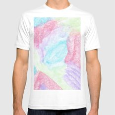 Chalking Around Mens Fitted Tee White SMALL