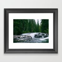 The River is Wild Framed Art Print