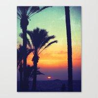 Ibiza Sunrise Canvas Print
