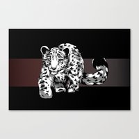 Snow Safari Canvas Print