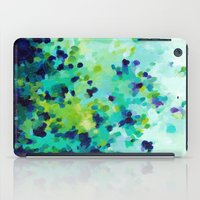 Aquamarine Addiction iPad Case