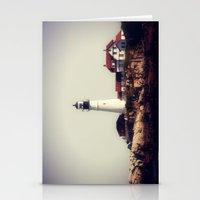 Lighthouse 3 Stationery Cards