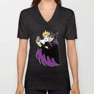 Grimhilde & Maleficent S… Unisex V-Neck