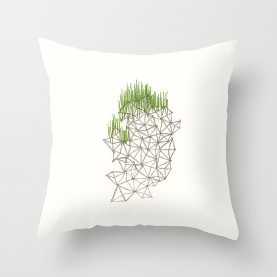 Geo'd Throw Pillow