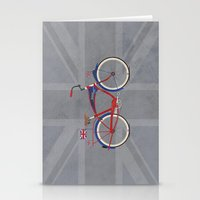 British Bicycle Stationery Cards