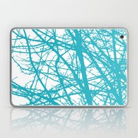 Turquoise Branches Laptop & iPad Skin
