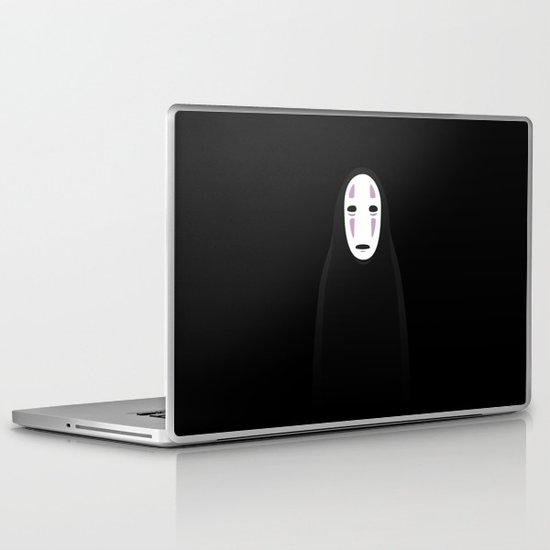 No Face Laptop & iPad Skin