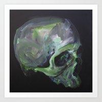 green sativa Art Print