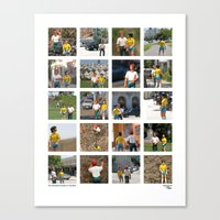 The Adventure People on Vacation Canvas Print