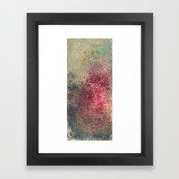 Rash Framed Art Print