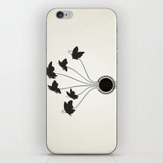 Butterflies A Guitar iPhone & iPod Skin