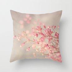 Coral Bells Throw Pillow