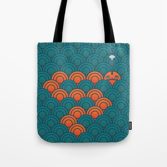 The Last Sea Monster Tote Bag