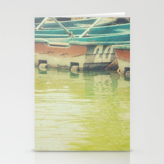 The boat number 20 Stationery Card