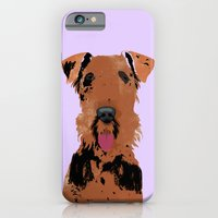 Airedale Terrier Dog iPhone 6 Slim Case