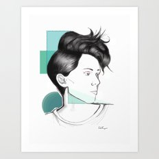 Heartthrob Art Print