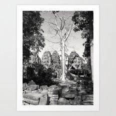 Bayon Temple - Cambodia Art Print