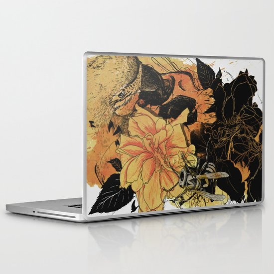 Pollination Fire Laptop & iPad Skin