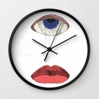 Senses Wall Clock