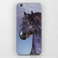 Hofvarpnir Equine Wall A… iPhone & iPod Skin