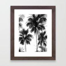 Paradis Noir VIII Framed Art Print
