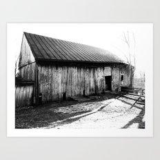 Barn II Art Print