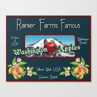 Washington Apples Canvas Print