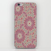 Mandala Starburst iPhone & iPod Skin